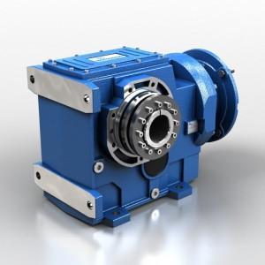 Motoreduktory stożkowo-walcowe B-shrink-disc